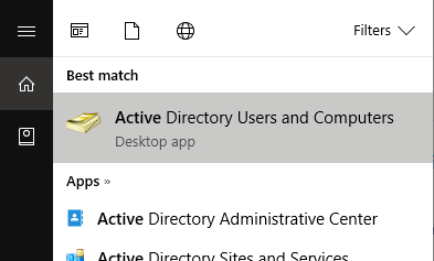how to add active directory users and computers windows 10